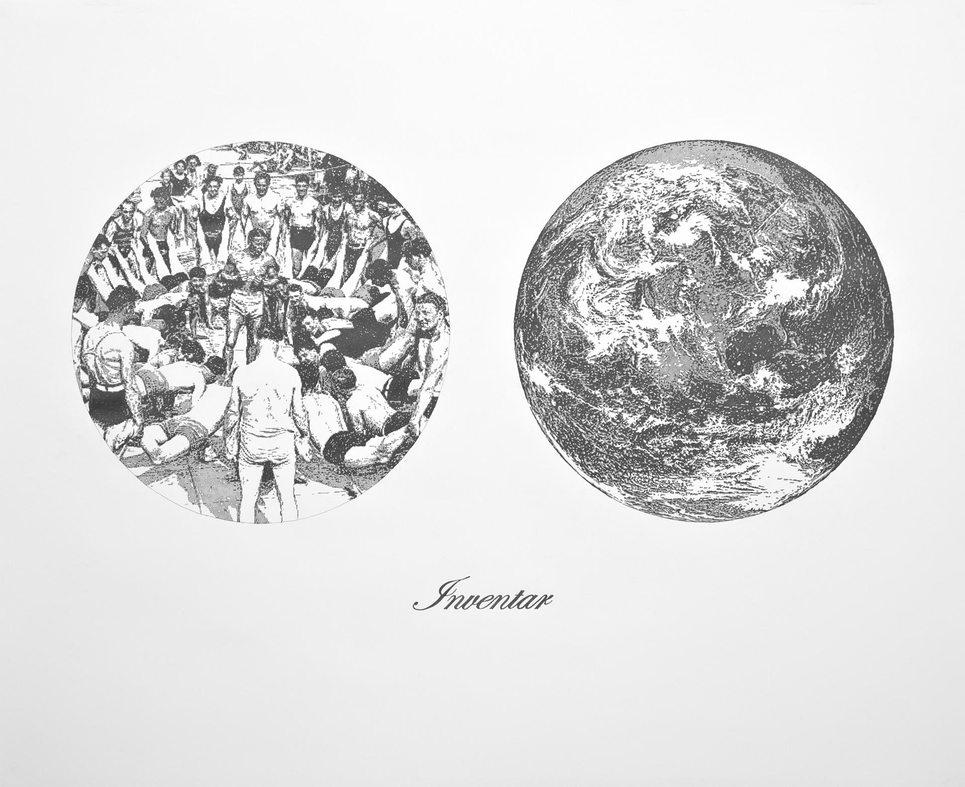 Inventar, Bleistift auf Papier, 152cm x 200cm, 2011