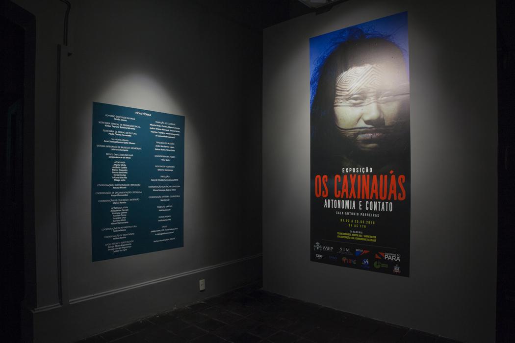 Os Caxinauás – Autonomia e Contato Museu do Estado do Pará, Belém, 2018