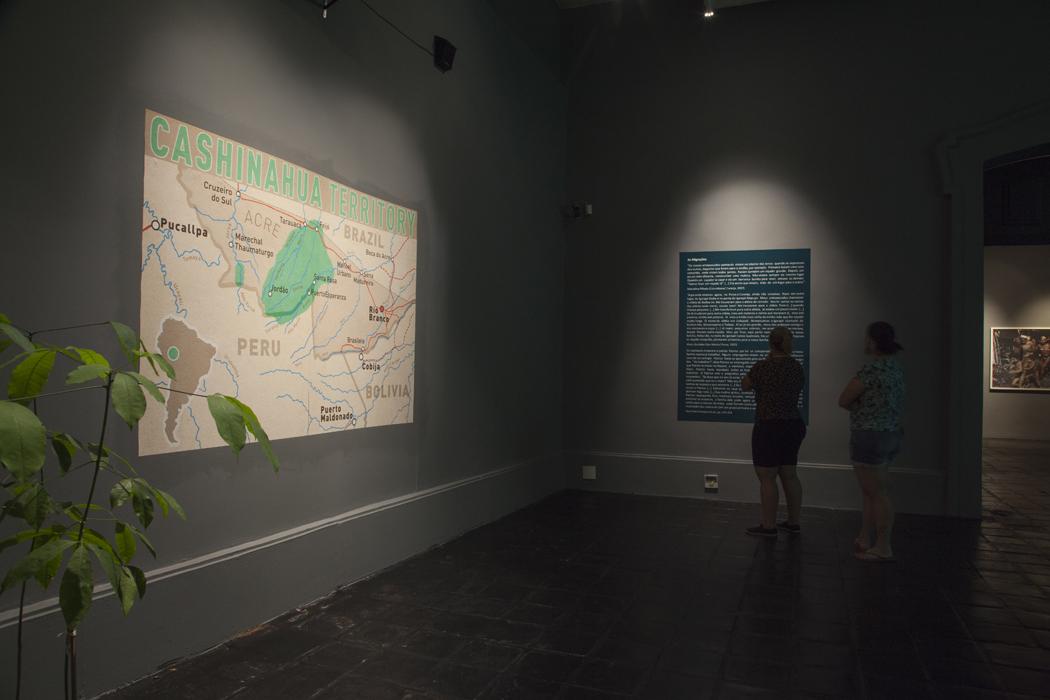 Saal 3: Migration Cashinahua Territory
